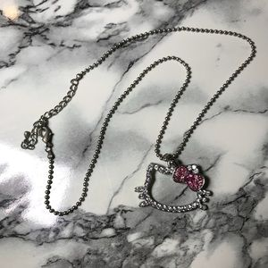 Jewelry - Hello Kitty Crystal Necklace